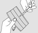 bandes tissu ultra-extensible 3