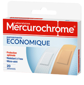 Mercurochrome Pansement econominque