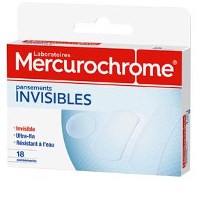 Mercurochrome pansement invisible