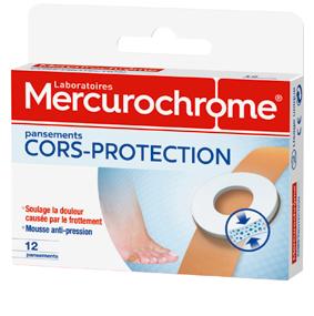 Mercurochrome pansements CORS-PROTECTION