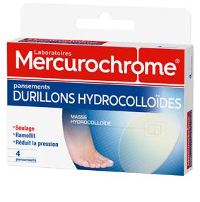 Mercurochrome pansmement durillon-hydro
