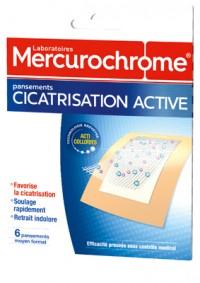 Mercurochrome pansement CICATRIS-ACTive