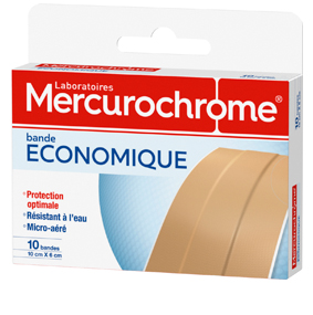 Mercurochrome Bande economique