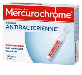 Mercurochrome antibacterien dose