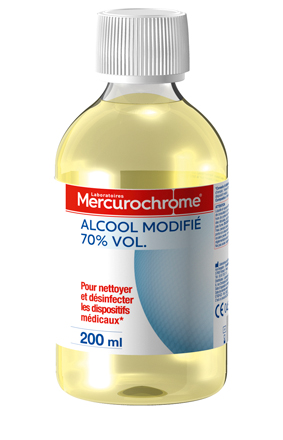 Mercurochrome ALCOOL 70