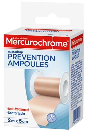 Mercurochrome SPARADRAP ampoules