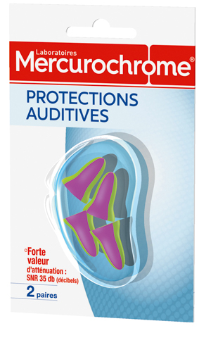 Mercurochrome PROTECTIONS-AUDITIVES