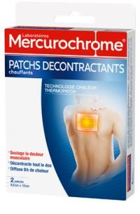 Mercurochorme patch decontractant