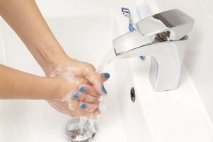 se laver les mains pour une bonne hygiène