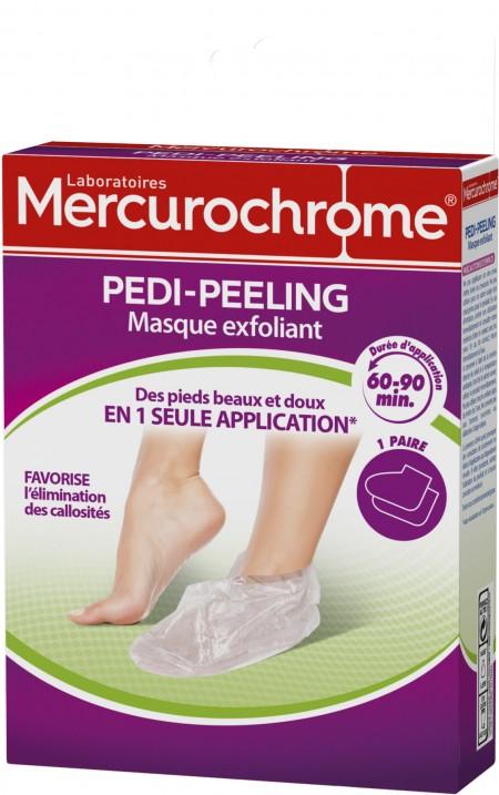 MASQUE EXFOLIANT pieds pedi-peeling